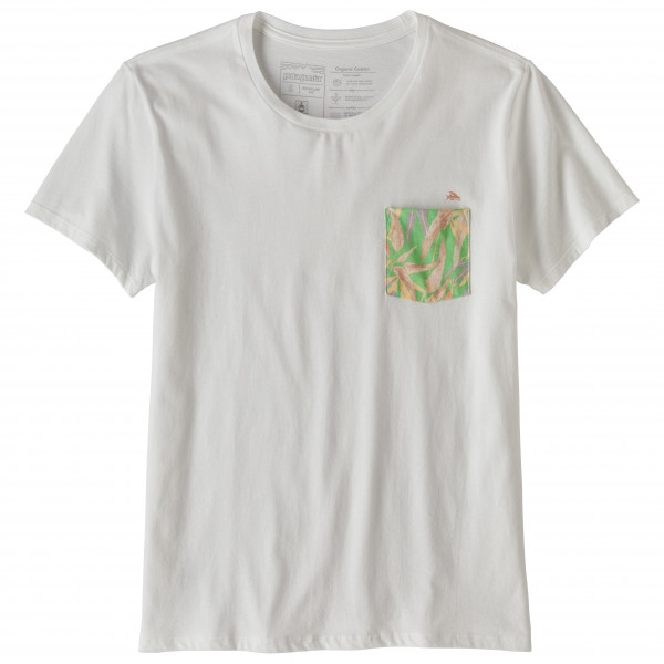 Patagonia - Women's Flying Fish Organic Pocket T-shirt - T-Shirt