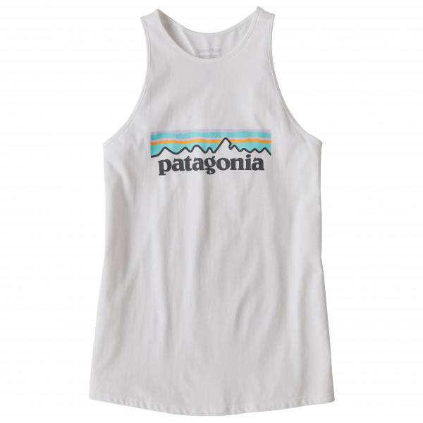 Patagonia - Women's Pastel P-6 Logo Organic High Neck Tank - Tank Top