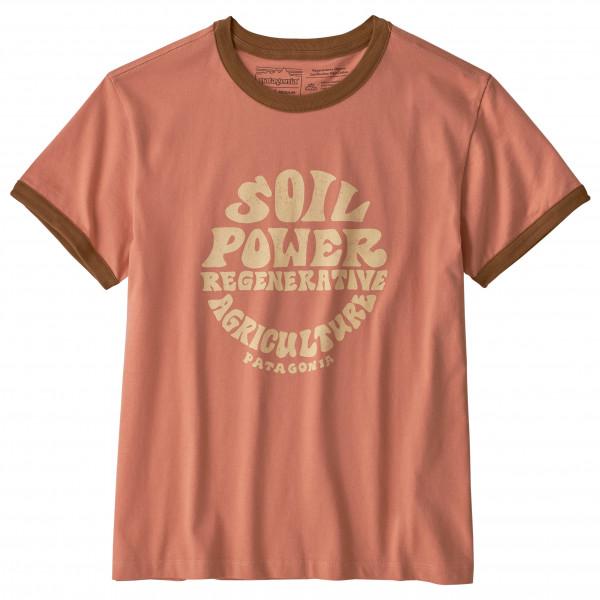 Patagonia - Women's Road to Regenerative Ringer Tee - Camiseta de manga corta