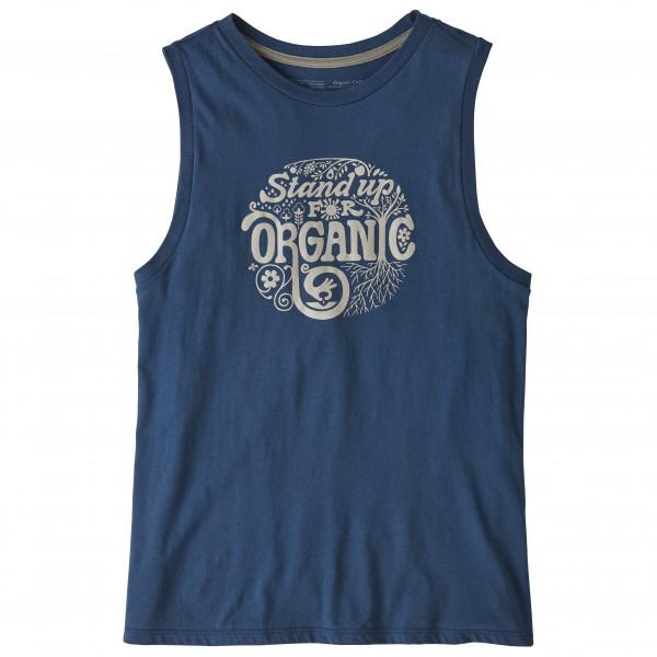 Patagonia - Women's Root Revolution Organic Muscle Tee - Top
