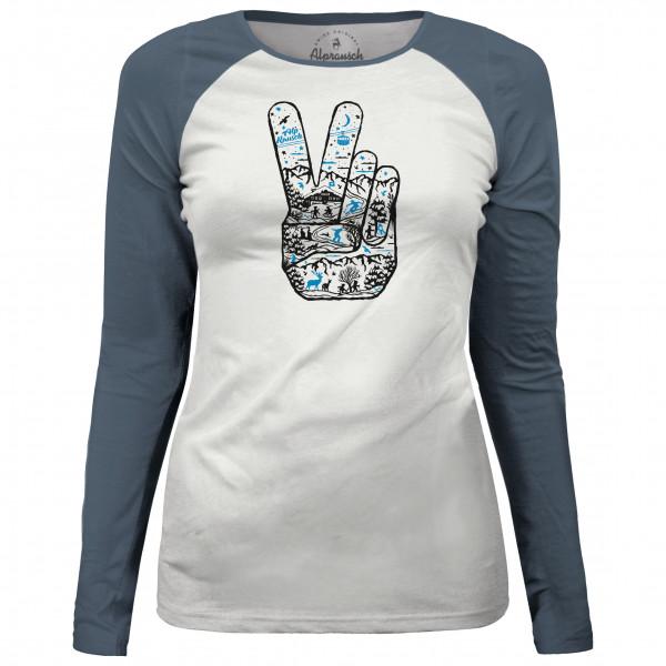 Alprausch - Women's Peace To The Alps Long Sleeve T-Shirt - Longsleeve