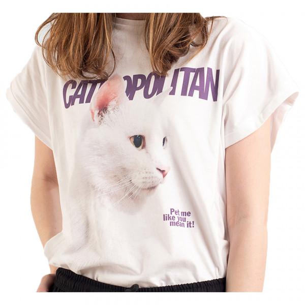 DEDICATED - Women's Visby Catmopolitan - T-shirt