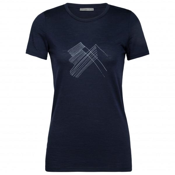 Icebreaker - Women's Spector S/S Crewe Snap Head - T-Shirt