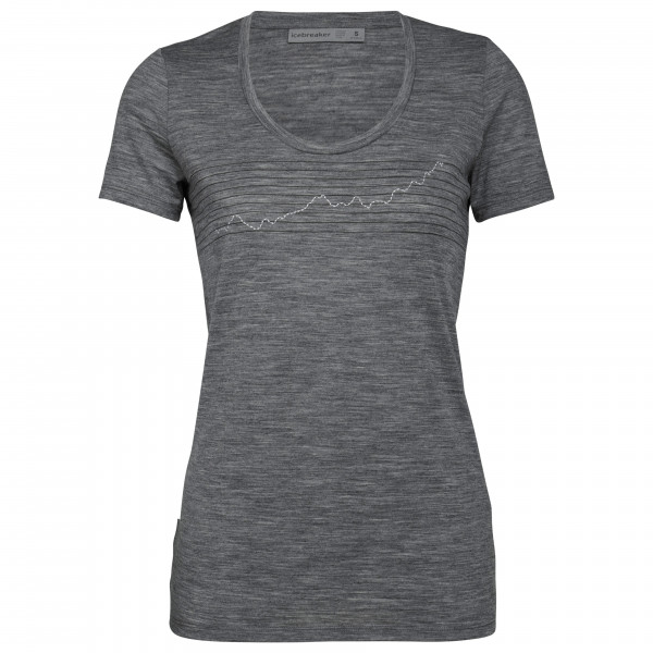 Icebreaker - Women's Tech Lite S/S Scoop Global Heat Index - T-Shirt