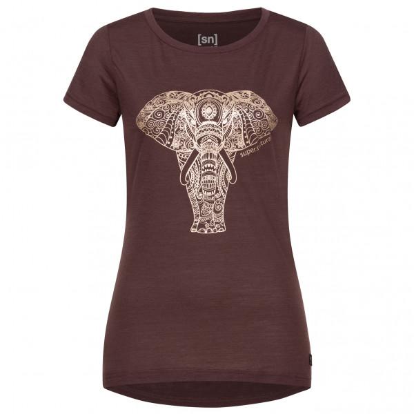 super.natural - Women's Yoga Power Elephant - T-shirt