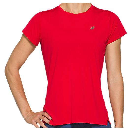 Asics - Women's Race Top - Running shirt - Classic Red | M