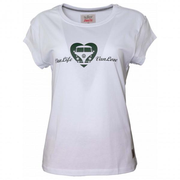 Van One - Women's Vanlife Heart - T-Shirt