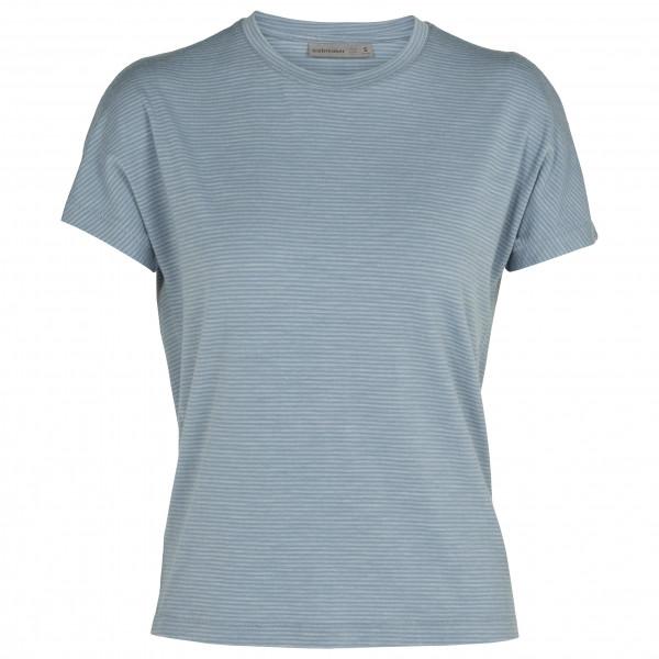 Women's Utility Explore S/S Crewe Stripe - Merino shirt