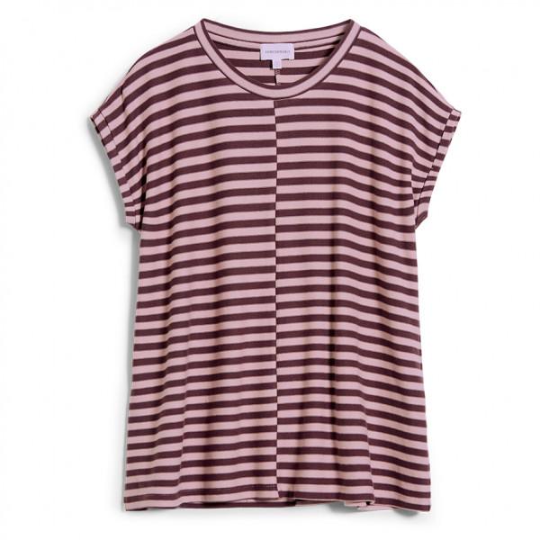ARMEDANGELS - Women's Jaarin Knitted Stripe - T-Shirt