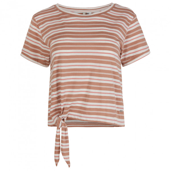 Women's LW Striped Knotted  T-Shirt