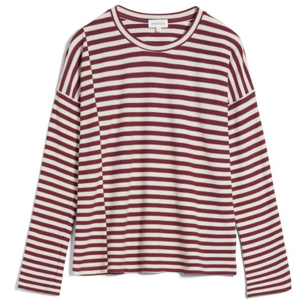 ARMEDANGELS - Women's Palinaa Knitted Stripe - Haut à manches longues