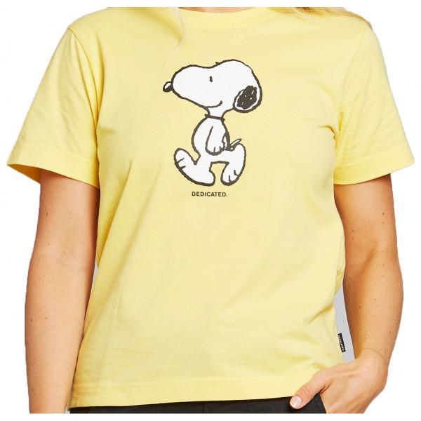 Women's T-Shirt Mysen Snoopy Yellow
