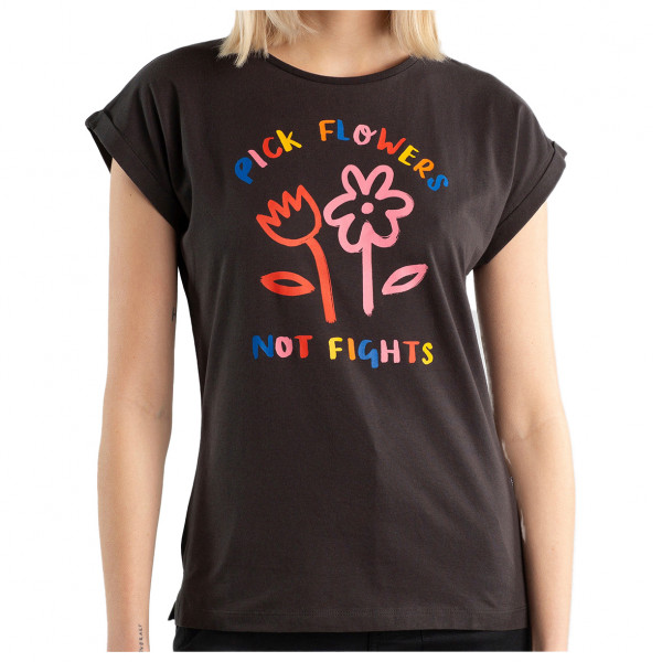 DEDICATED - Women's T-Shirt Visby Flowers Not Fights