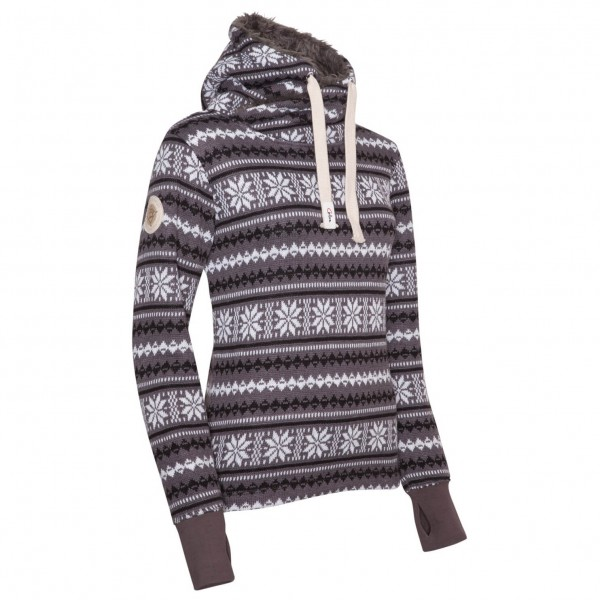 Chillaz - Women's Crossneck Hoody Norwegen Style