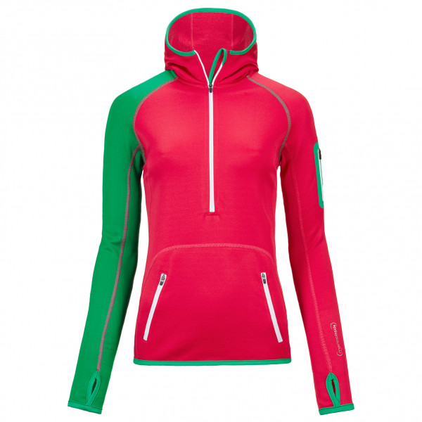 Ortovox - Women's Fleece (MI) Zip Neck Hoody - Hoodie