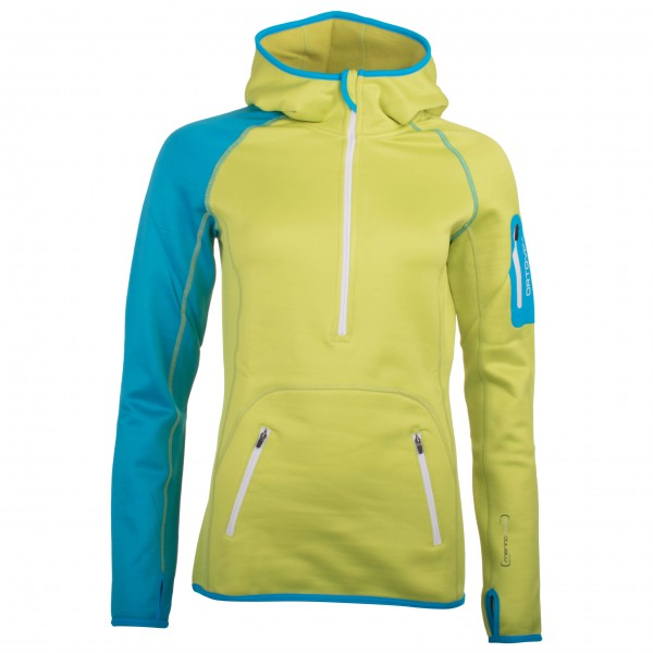 Ortovox - Women's Fleece (MI) Zip Neck Hoody