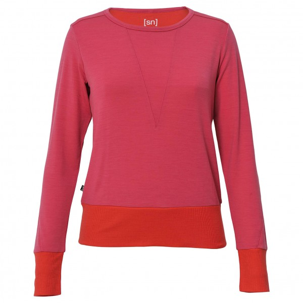 SuperNatural - Women's Boxy Crewe Top 220 - Pullover