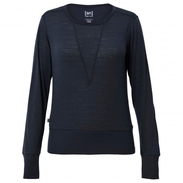 SuperNatural - Women's Boxy Crewe Top 110 - Jumpers