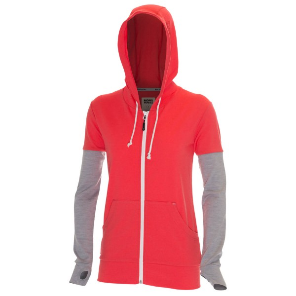 Mons Royale - Women's Mid Hoody - Pull-over à capuche