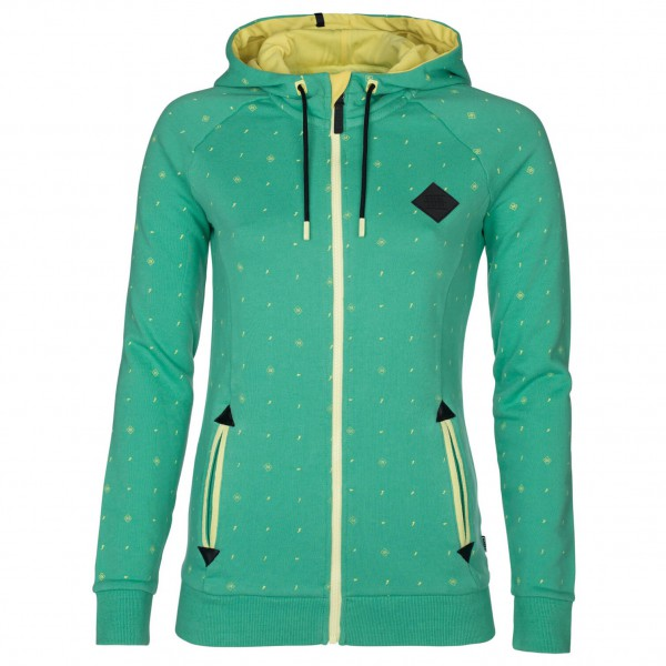ION - Women's Zip Hoody Dotty - Pull-over à capuche