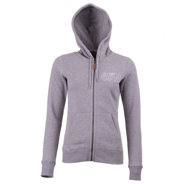 66 North - Women's Logn Zipped Sweater - Hoodie