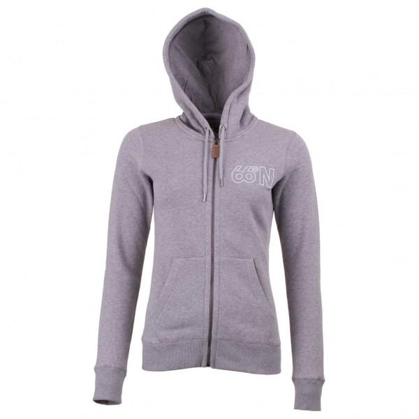 66 North - Women's Logn Zipped Sweater - Munkjacka