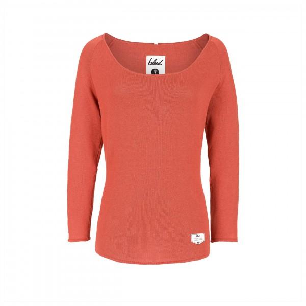 Bleed - Women's Knitted Linen Jumper - Pull-over