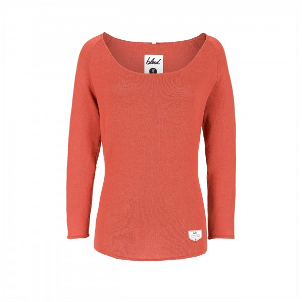 Bleed - Women's Knitted Linen Jumper - Pullover