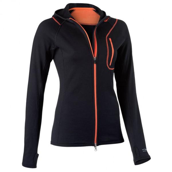 Engel Sports - Women's Hood Jacket L/S - Wollen jack
