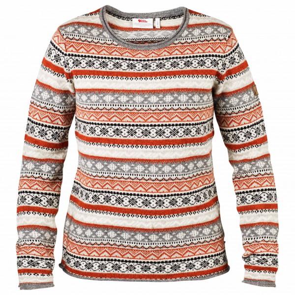 Fjällräven - Women's Övik Folk Knit Sweater - Trui