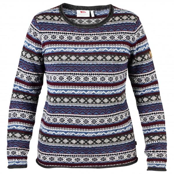 Fjällräven - Women's Övik Folk Knit Sweater - Överdragströjor