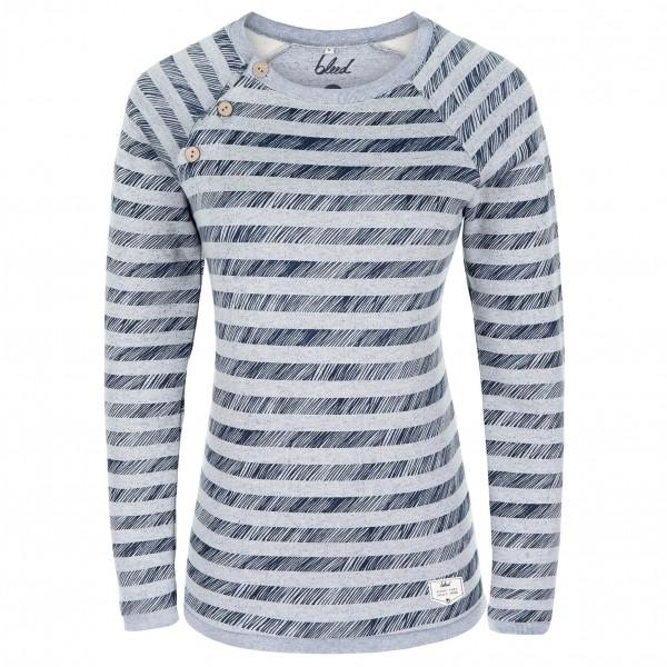 Bleed - Women's Striped Sweater - Pulloverit