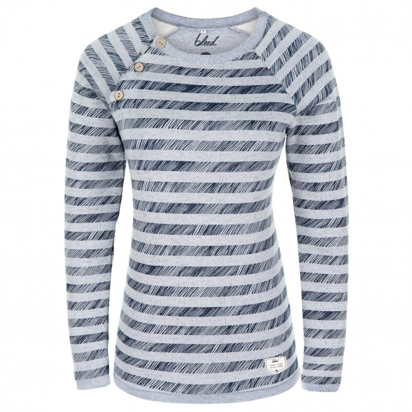 Bleed - Women's Striped Sweater - Pullover