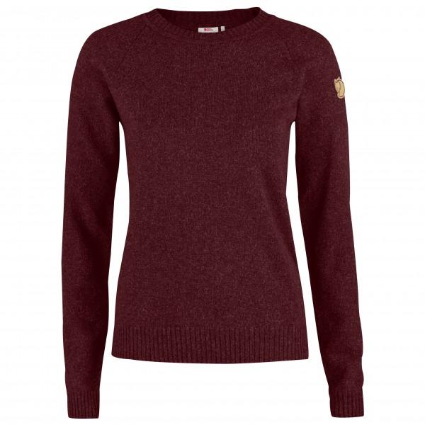 Fjällräven - Women's Övik Re-Wool Sweater - Överdragströjor