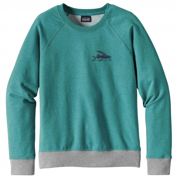 Patagonia - Women's Small Flying Fish Midweight Crew