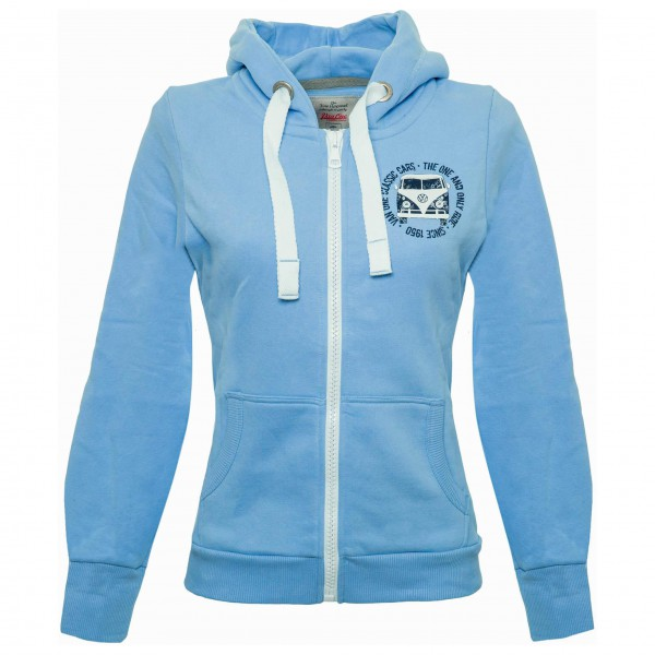 Van One - Women's Bulli Face Used VW Bulli Fullzip - Sudadera
