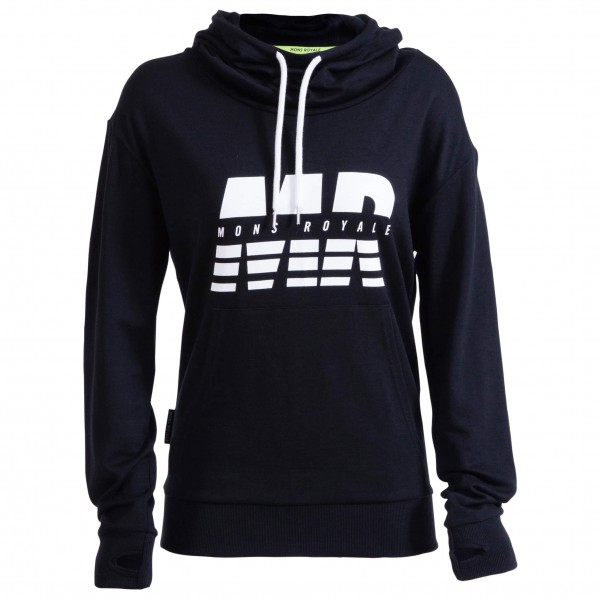 Mons Royale - Women's Switch Pullover Hoody - Hoodie
