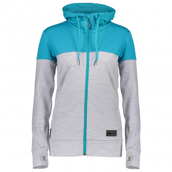 Mons Royale - Women's Covert Mid-Hit Hoody Panel - Hoodie
