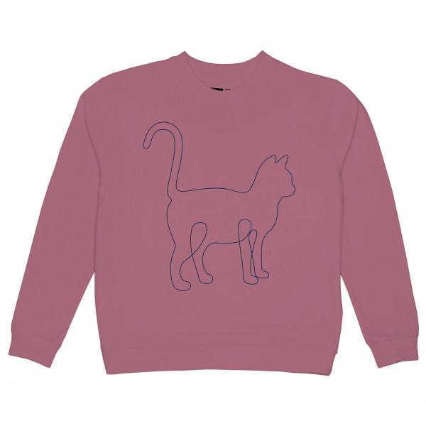 DEDICATED - Women's Sweatshirt Ystad One Line Cat - Sweatere