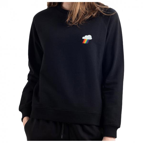 DEDICATED - Women's Sweatshirt Ystad Raglan Rainbow Cloud - Jumper