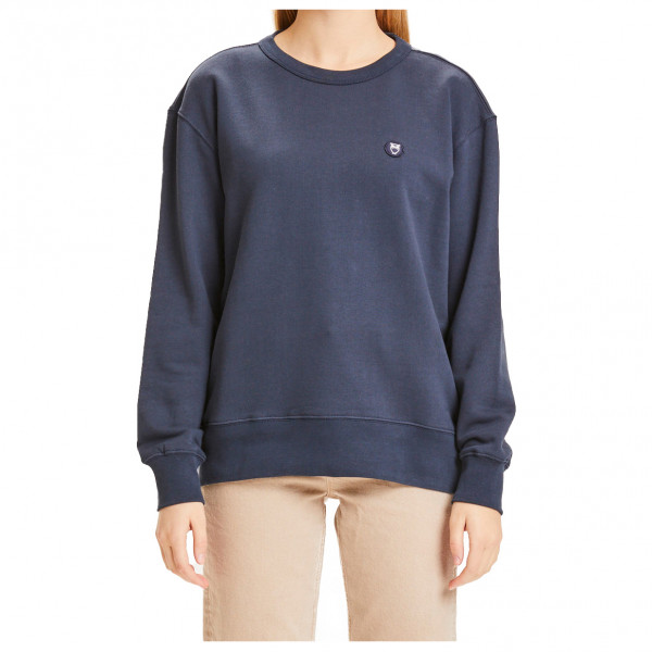 KnowledgeCotton Apparel - Women's Daphne Basic Badge Sweat Vegan - Pullover
