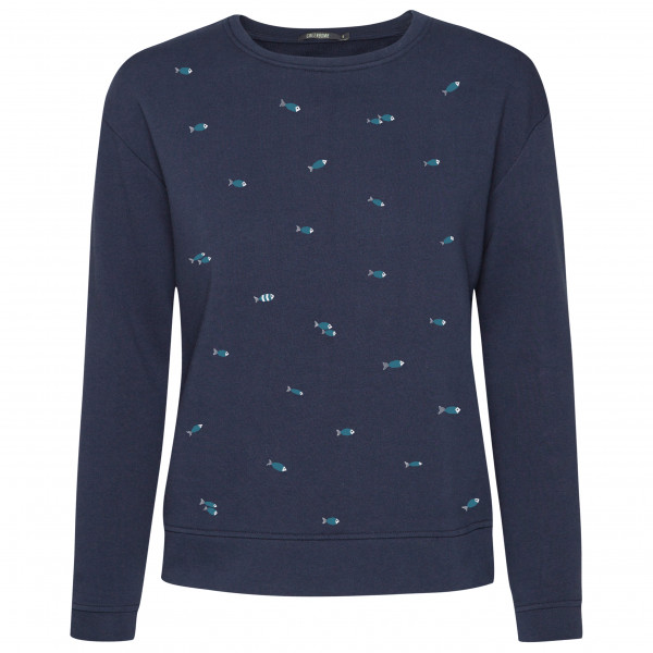 GreenBomb - Women's Animal Fish Swarm Canty - Pullover
