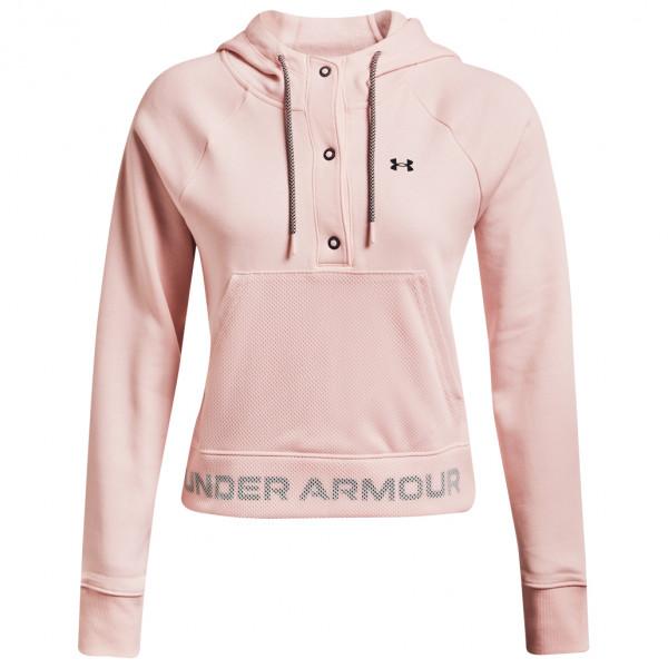 Under Armour - Women's UA Rival Fleece Mesh Hoodie - Hoodie