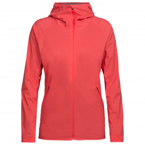 Icebreaker - Women's Coriolis Hooded Windbreaker - Vindjacka