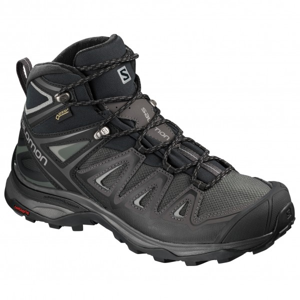Salomon Women's X Ultra 3 Mid GTX Walking boots Magnet Black Monument | 4 (UK)