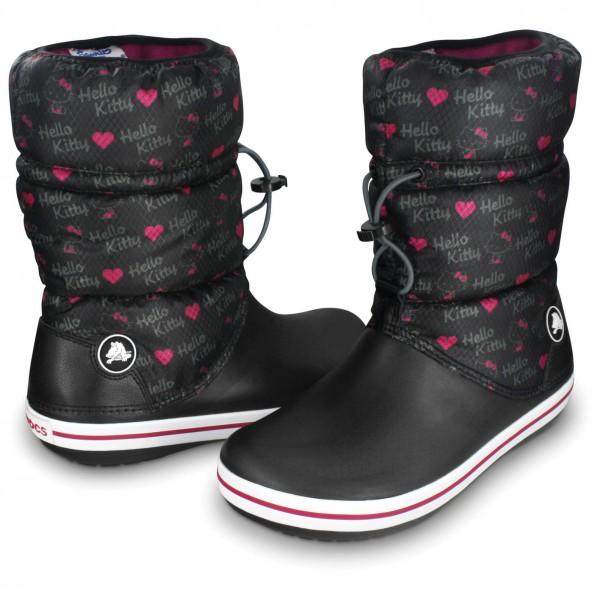 Crocs - Women's Crocband Winter Boot Hello Kitty