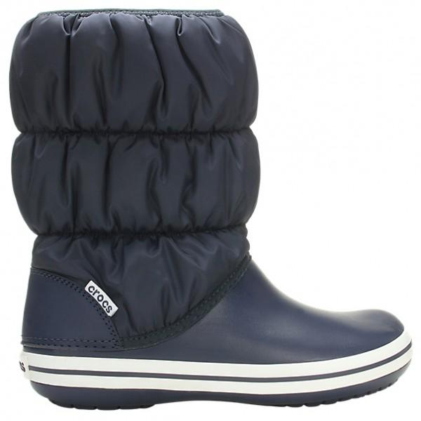 separation shoes 298c7 30b49 Crocs - Women's Winter Puff Boot - Winterschuhe - Navy / White   W6 (US)