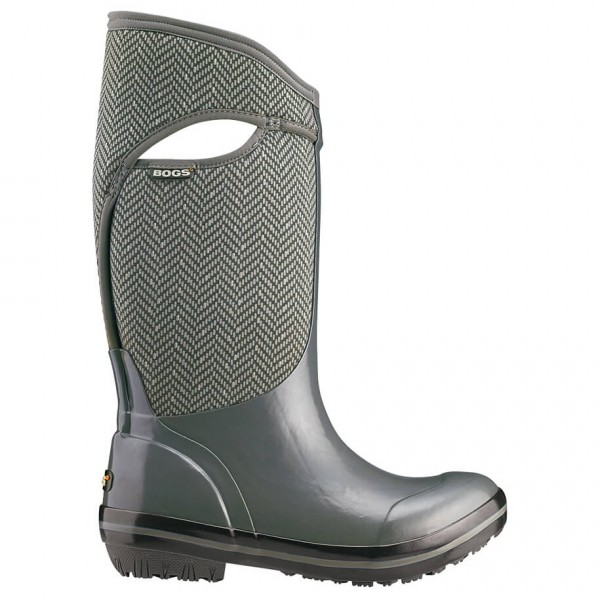 Bogs - Women's Plimsoll High Herringbone - Rubber boots