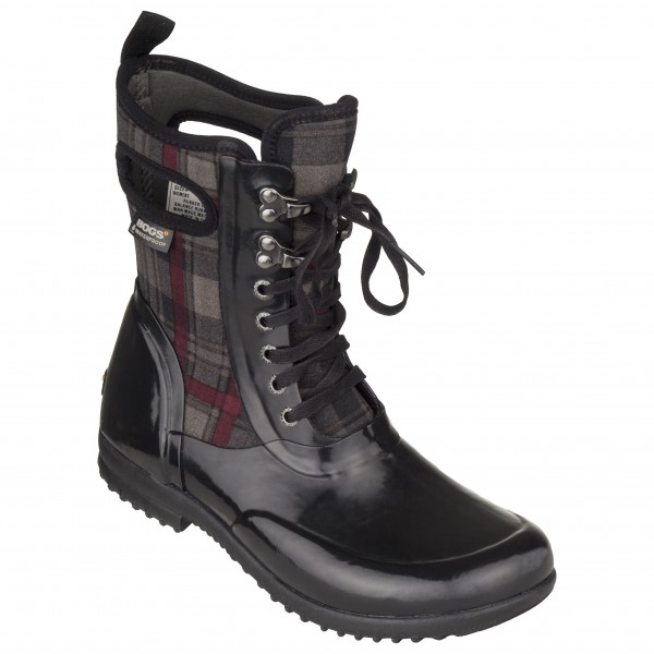Bogs - Women's Sidney Lace Plaid - Winter boots