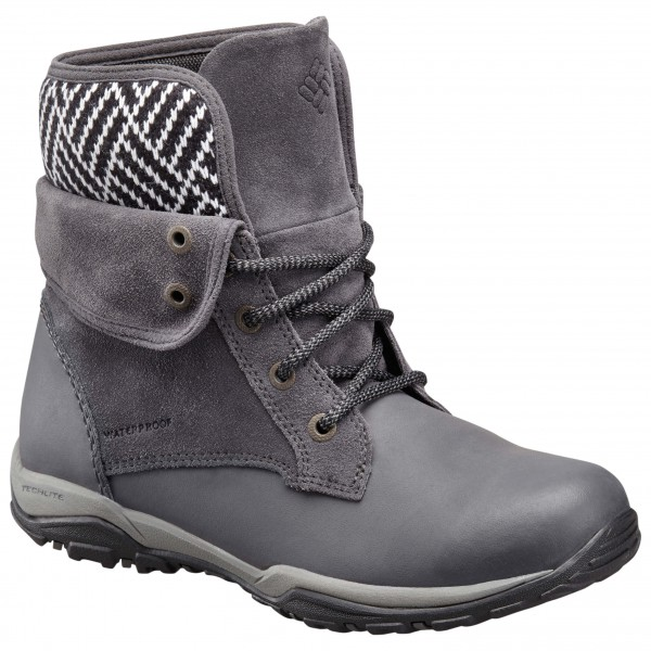 Columbia - Women's Cityside Fold Waterproof - Winterschuhe